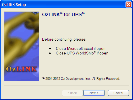 OzLINK | Installation